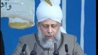 Majlis Khuddamul Ahmadiyya UK Ijtima 2005, Address by Hadhrat Mirza Masroor Ahmad