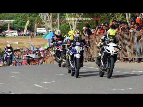 Road race Grand Final Kejurnas Motorprix indonesia 2017 di Aceh