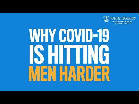 Why COVID-19 Is Hitting Men Harder