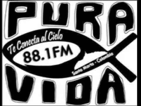Radio pura vida fm Santa Marta  Luis Romero Charris 31 07 17