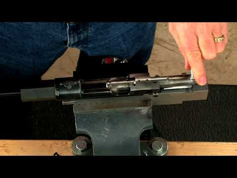 Gunsmithing - How to True Up the Bolt Face on a Mauser 98 Bolt Action Rifle
