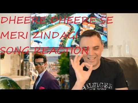 SONG DHEERE DHEERE SE MERI ZINDAGI VIDEO REACTION REVIEW