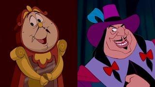 flushyoutube.com-Disney Doppelgängers: Cogsworth & Governor Ratcliffe