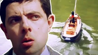 Remote Controlled BOAT 🛥️ | Funny Clips | Mr Bean Official