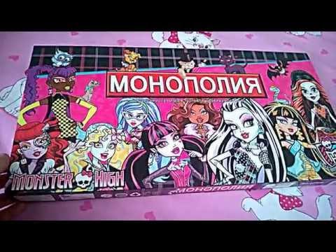 Монстер Хай и #Барби: шоппинг. Игры для девочек и видео про #Куклы и одевалки на ютуб