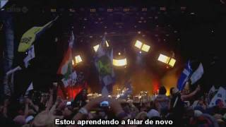 Walk - Foo Fighters HD - legendado -  Concert live at T In The Park