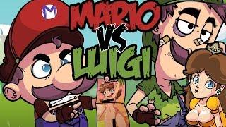 MARIO VS LUIGI RAP | ESPECIAL 5 MILLONES PARTE 2 | ZARCORT Y CYCLO