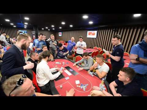 POKER FEVER 16-21.3,2017 Main Event Day 2 Bubble Boy