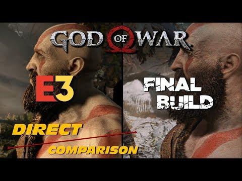 God of War - E3 vs Retail   Direct Comparison