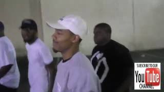 Shad Moss aka Bow Wow leaves California Pizza Kitchen in Westwood on same day as he announces his re