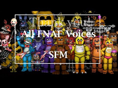 All FNAF Voices SFM - Most Popular Videos
