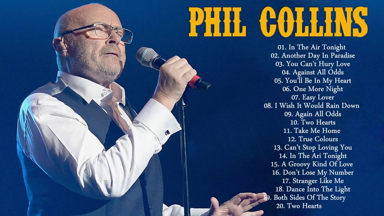 Phil Collins 30 Greatest Hits Best Songs Of Phil Collins 2018 Youtube