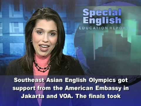 Jakarta Holds Southeast Asian English Olympics