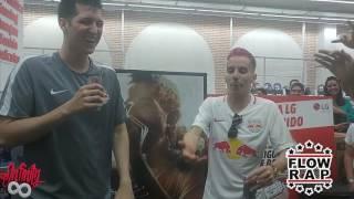 Freestyle CHUTY y SKONE TRAP (OFICIAL FLOWRAP) [Parte 2]