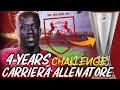 CRESCITA DEVASTANTE E INSENSATA!! 4 YEARS CHALLENGE CARRIERA ALLENATORE FIFA 22