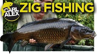 Carp fishing with Zig Rigs