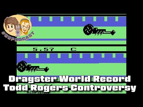 Dragster World Record Controversy (Todd Rogers) - #CUPodcast