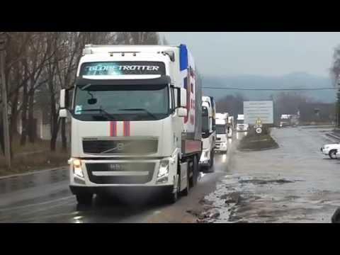 Спасибо за помощь Донбассу  волонтерам  и жителям  России.