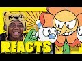 CUPHEAD CARTOON RAP BATTLE by mashed | Animation Reaction