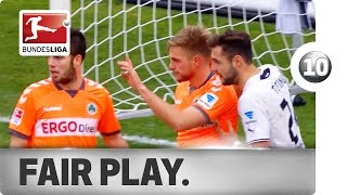 Top 10 Fair-Play Moments
