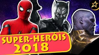 5 MOST ANTECIPATED SUPERHERO Movies for 2018 - MegaCine