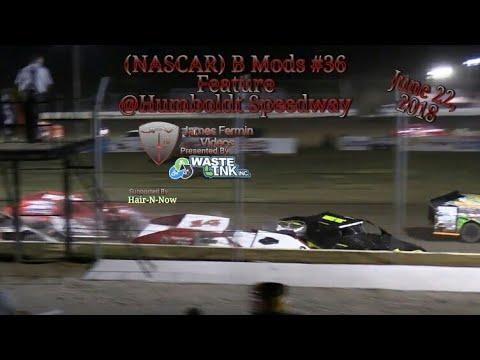 (NASCAR) B Mods #36, Feature, Humboldt Speedway, 06/22/18