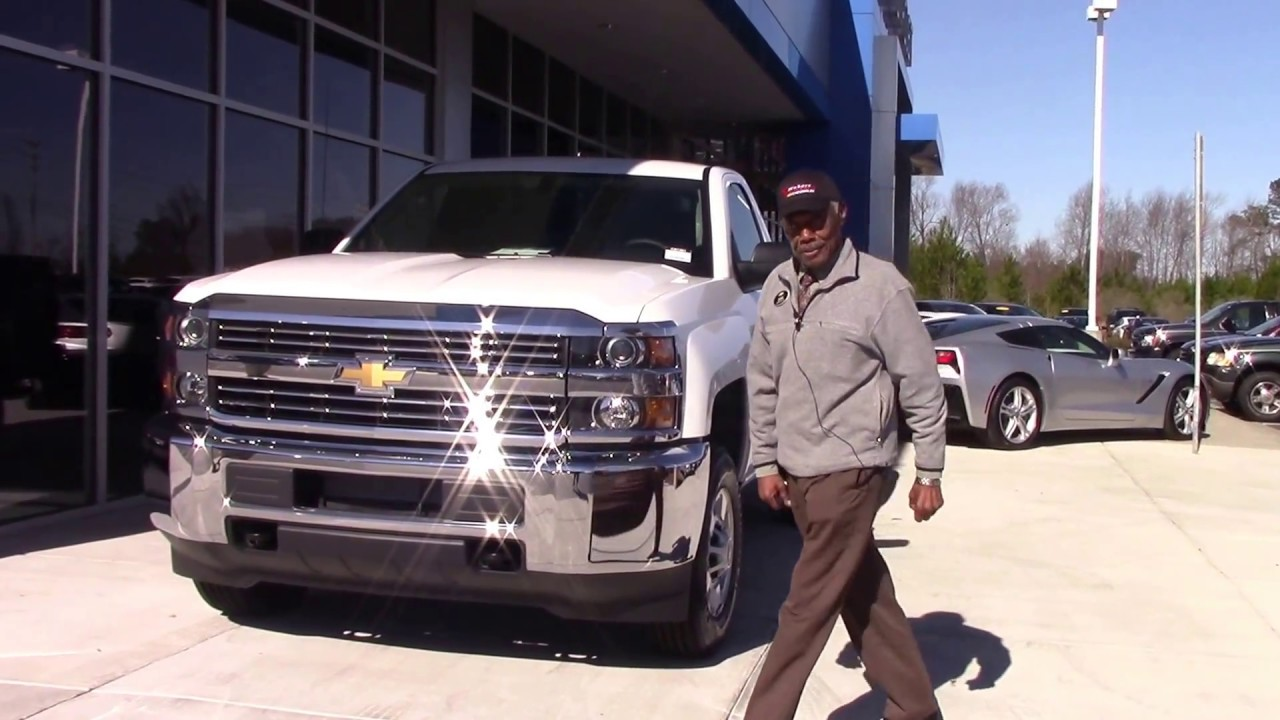 2017 Chevrolet Silverado 2500hd Regular Cab 4 Wheel Drive Work Truck Wilson Nc Walkaround
