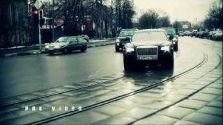 Проезд Rolls-Royce и 2x Range Rover по Москве