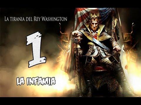 Assassin's Creed 3 - La Tiranía del Rey Washington : Mision 1
