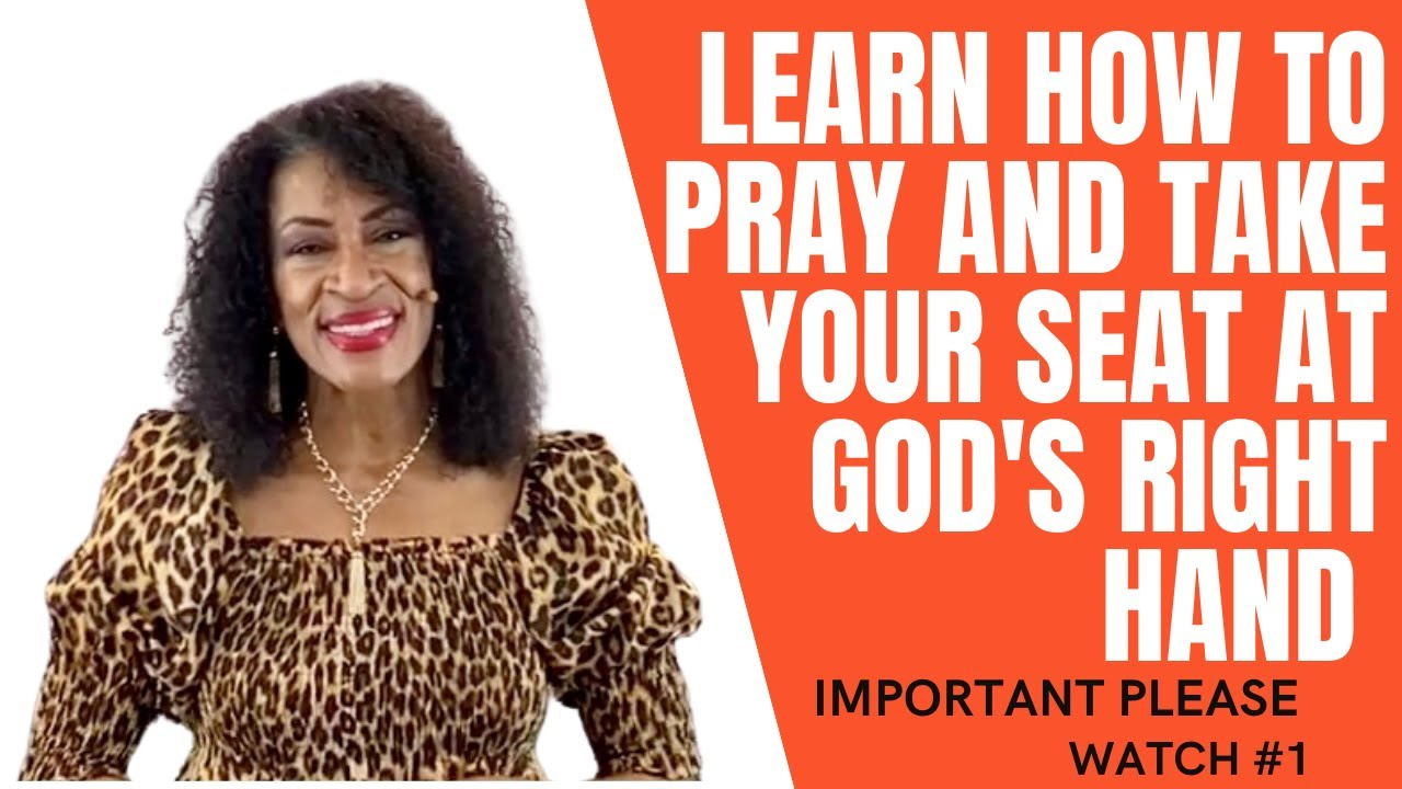 """""""Learn How To Take Your Seat In Prayer"""" Important!"""