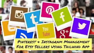 Instagram & Pinterest Marketing For Etsy Sellers