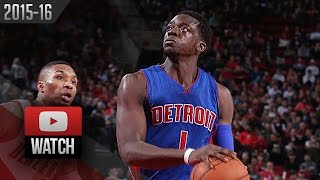 Reggie Jackson Full Highlights at Trail Blazers (2015.11.08) - 40 Pts, UNREAL 4 Qtr