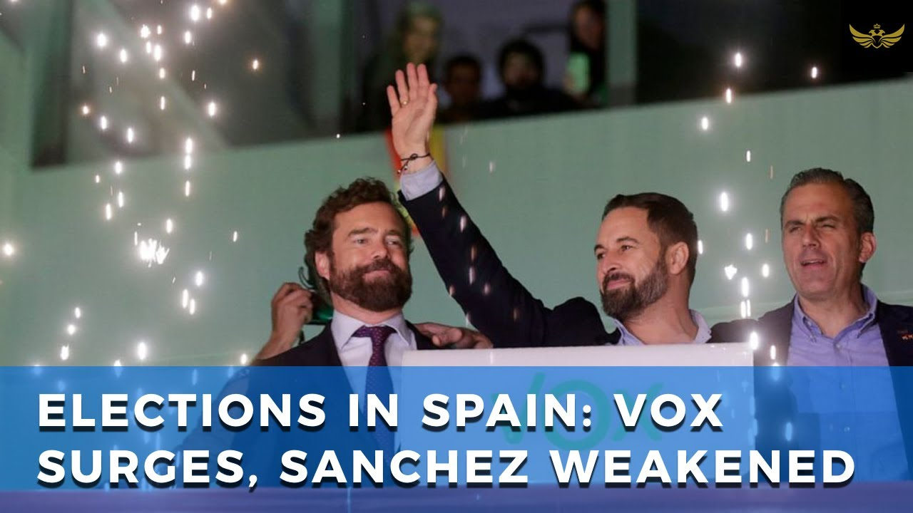 Elections in Spain weaken Socialist PM Sánchez. Vox Party surges to third