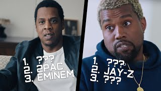 Rappers Name Their Top 5 Favorite Rappers of ALL-TIME! (Jay-Z, Kanye West, Diddy, Lil Wayne & more)