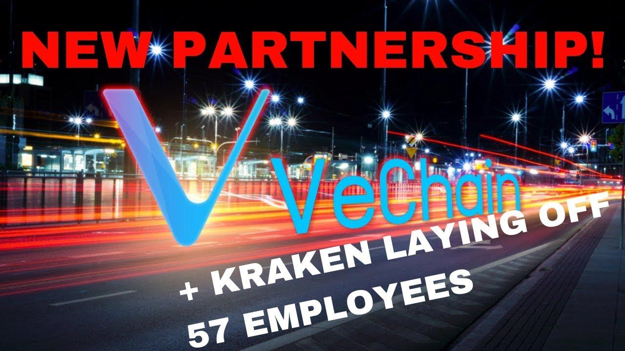 New VeChain Partnership!! + Kraken FUD!? - Today's Crypto News