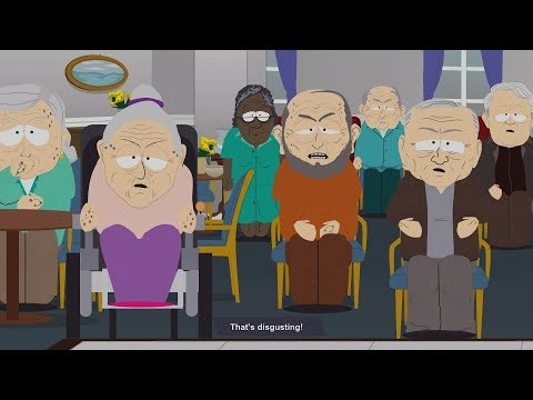 South Park: The Fractured But Whole - Old Folks Home Boss Fight #31