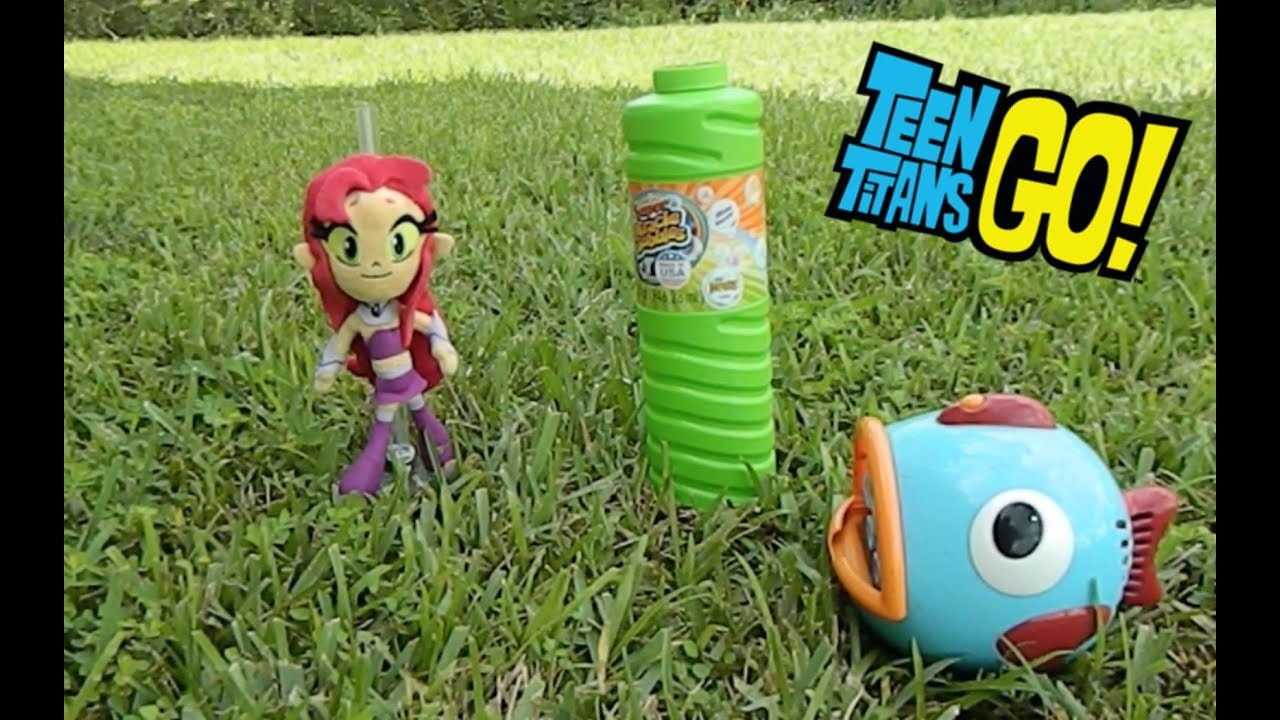 Teen Titans Go Starfire Plays With Bubbles - Youtube-8372