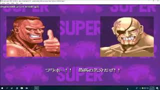 FightCade - Super Street Fighter X: chupiso666 (Brazil) vs tolist85 (Turkey), 60 FPS