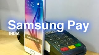 How to use Samsung Pay | Demo | Samsung Pay now LIVE in india