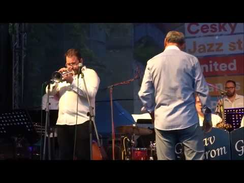 GUSTAV BROM CZECH RADIO BIG BAND - UNITED ISLANDS FESTIVAL PRAGUE