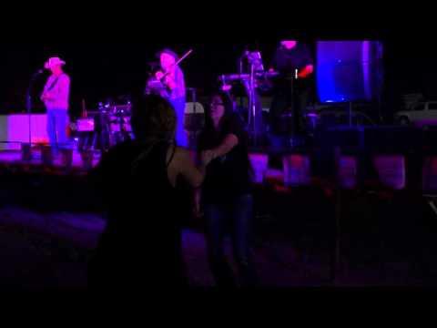 Jodi Collins dances to J David Sloan's, Western Bred Band at the Coop Grill, Arlington, Arizona
