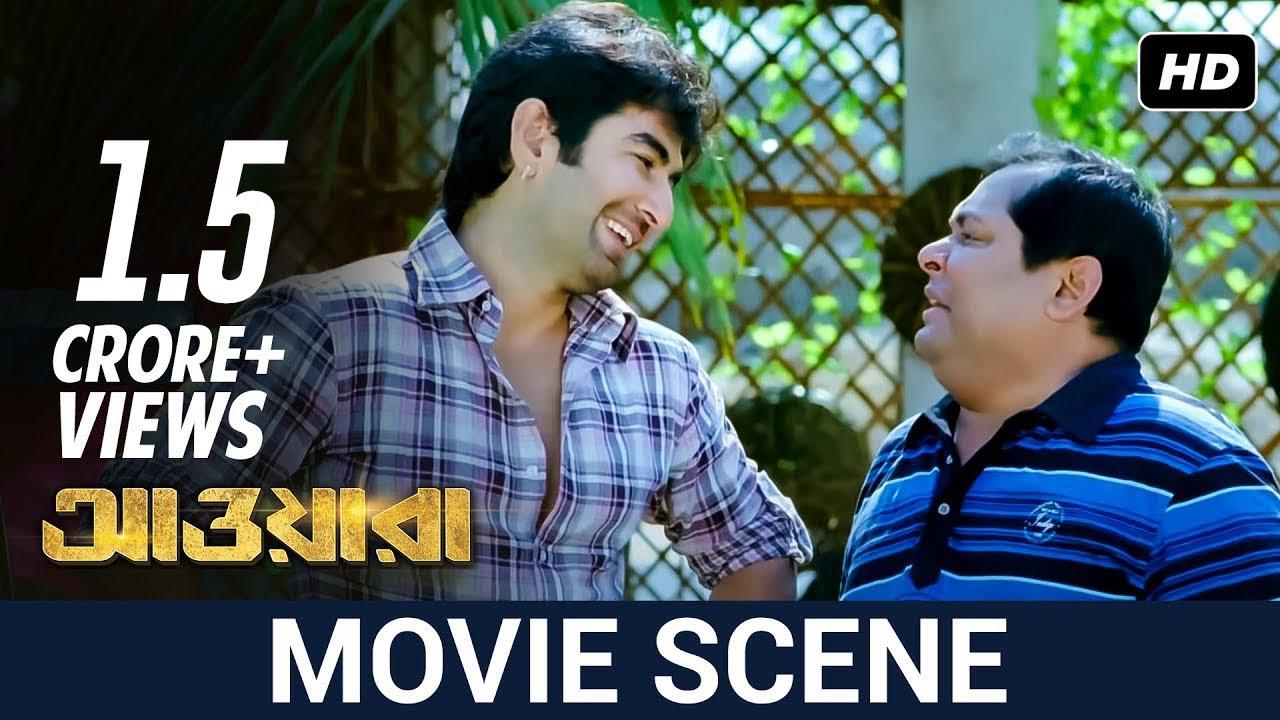 Download জলে মাছ না মানুষ ! | Jeet | Sayantika | Kharaj | Awara | Movie Scene | SVF