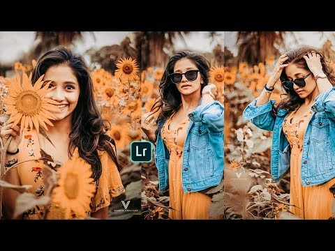 Orange Tone Preset | Lightroom Mobile | Lightroom Photo Editing Tutorial thumbnail