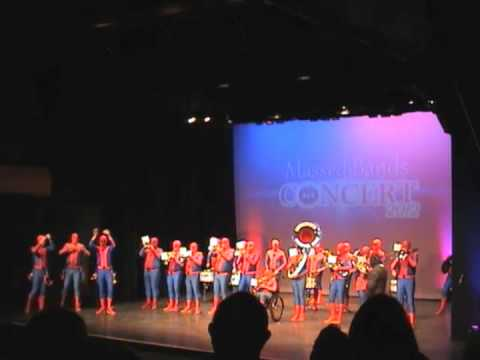 Bournemouth Carnival Band - Massed Bands in Concert 2012