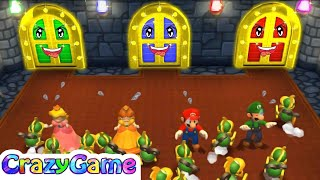 Super Mario Party - All-Star Swingers w/ Other Mario Party Minigames Gameplay