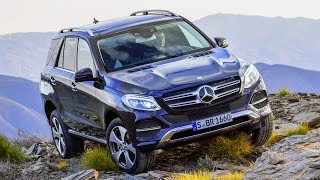 Mercedes-Benz GLE 250 d 4matic.  Тест-драйв.