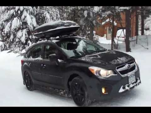 Blizzak Snow Tires >> Subaru Impreza traction test - YouTube