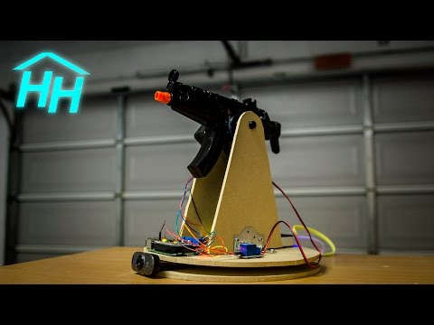 How to Make a Raspberry Pi Motion Tracking Airsoft / Nerf Turret