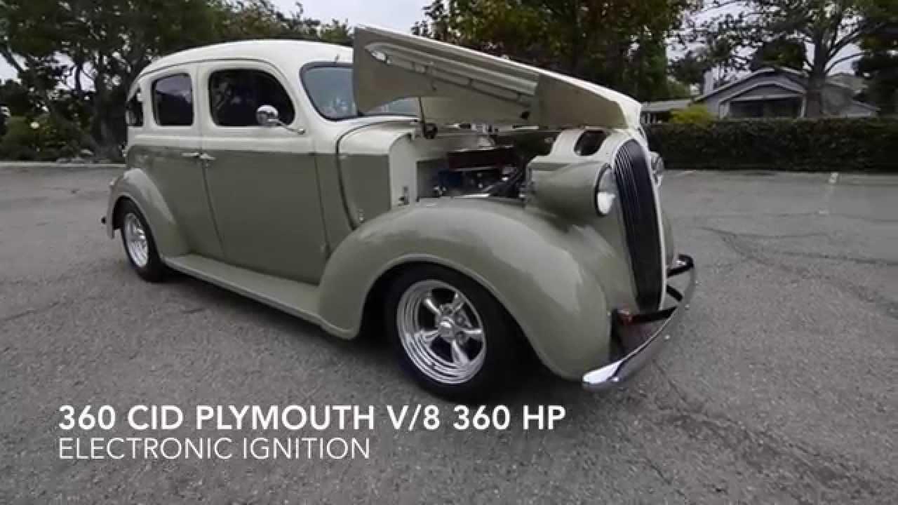 Sold 1937 plymouth slant back split window suicide 4 for 1937 ford 4 door sedan for sale