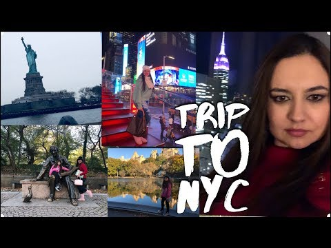 VLOG : MY TRIP TO NEW YORK - 2017